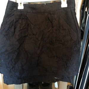 H&M crinkled pencil skirt size 6